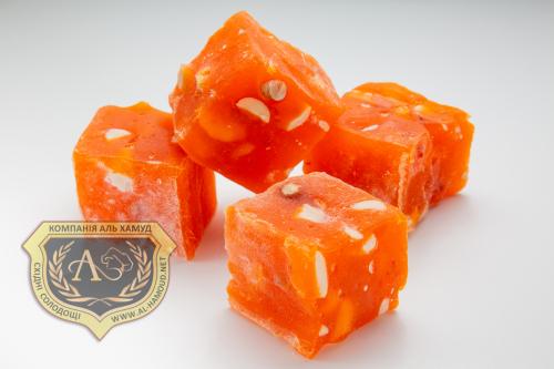 """Кубики """"Апельсин с арахисом"""""""
